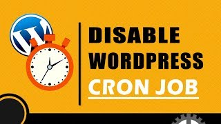 Disable WordPress Cron Job - wp-cron.php File Mp3