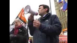Andy Burnham MP pledges to FIGHT for our NHS