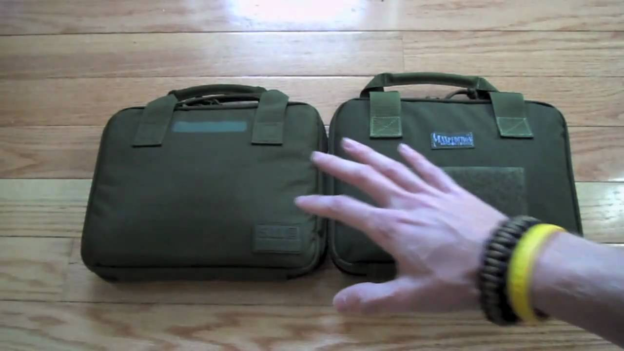 Maxpedition Pistol Case Amp 5 11 Pistol Case Youtube