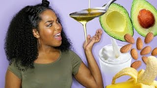 4 DIY Hair Masks | Hydrating, Growth & Conditioning | Winter Natural Hair (By Melissa Denise)