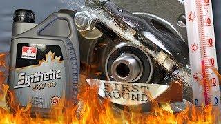 Petro Canada Synthetic 5W40 Jak skutecznie olej chroni silnik? 100°C