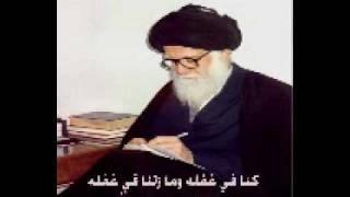 احمد الساعدي السيد الصدر.