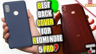 REDMI NOTE 5 PRO BEST BACK COVER ?    UNBOXING AND REVIEW
