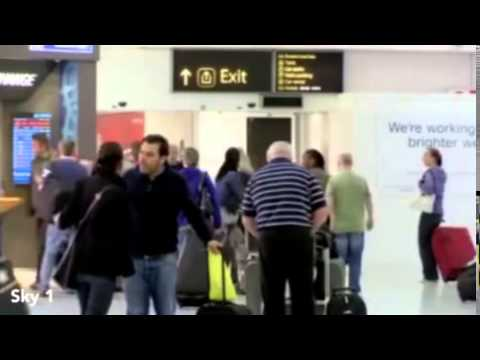 Alex Scott appeared in the TV programme 'Inside Gatwick   Mail Online mp4