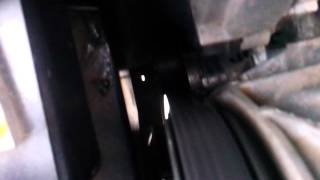 видео Писк, свист приводного ремня(ремня генератора)