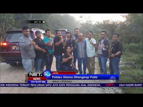 Bos Miras Oplosan Ditangkap Polisi di Tengah Hutan - NET 10