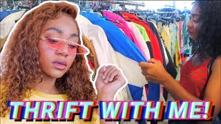 Come Thrift With Me! + MASSIVE Try on Haul! 2018