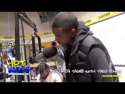 TREY SONGZ TAKES OVER HOT 107.5 IN DETROIT