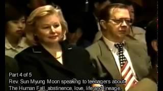 Любовь, жизнь и родословие - преп. Мун Сон Мен , 4 июля 2002 года, 4 часть
