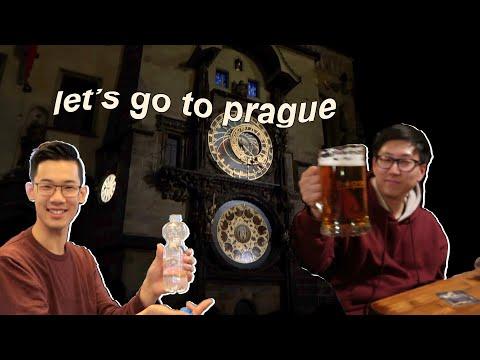 (eng cc) prague vlog,, czech food and beer