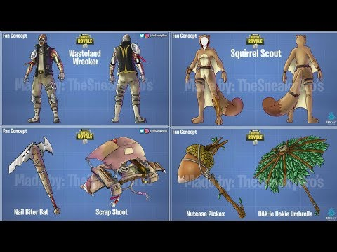 The Best Skin Concepts Made By Fans That Might Come To Fortnite - Fortnite Battle Royale