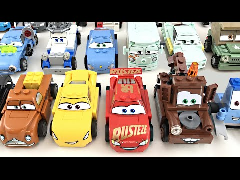 LEGO Cars - ALL Characters! (2011 - 2017)
