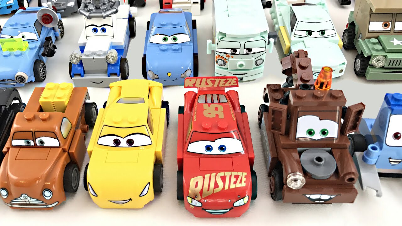 Lego Cars All Characters 2011 2017 Youtube