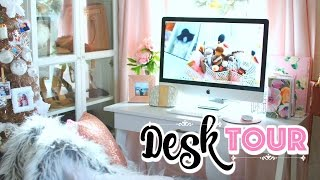Pinterest Inspired DESK TOUR! | Belinda Selene