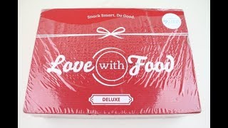 "Love with Food Box November 2018 ""Deluxe"" Unboxing + Coupons #lovewithfood"