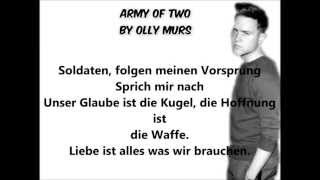 Army of Two by Olly Murs deutsche übersetzung