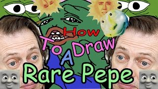 How To Draw Pepe The Frog ~ Dank Meme ~Drawing Dynamics ~ EP20 SE02
