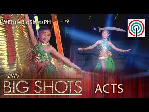 Little Big Shots Philippines: Charley   11 year old Belly Dancer