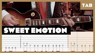 Sweet Emotion Aerosmith Cover | Guitar Tab | Lesson | Tutorial
