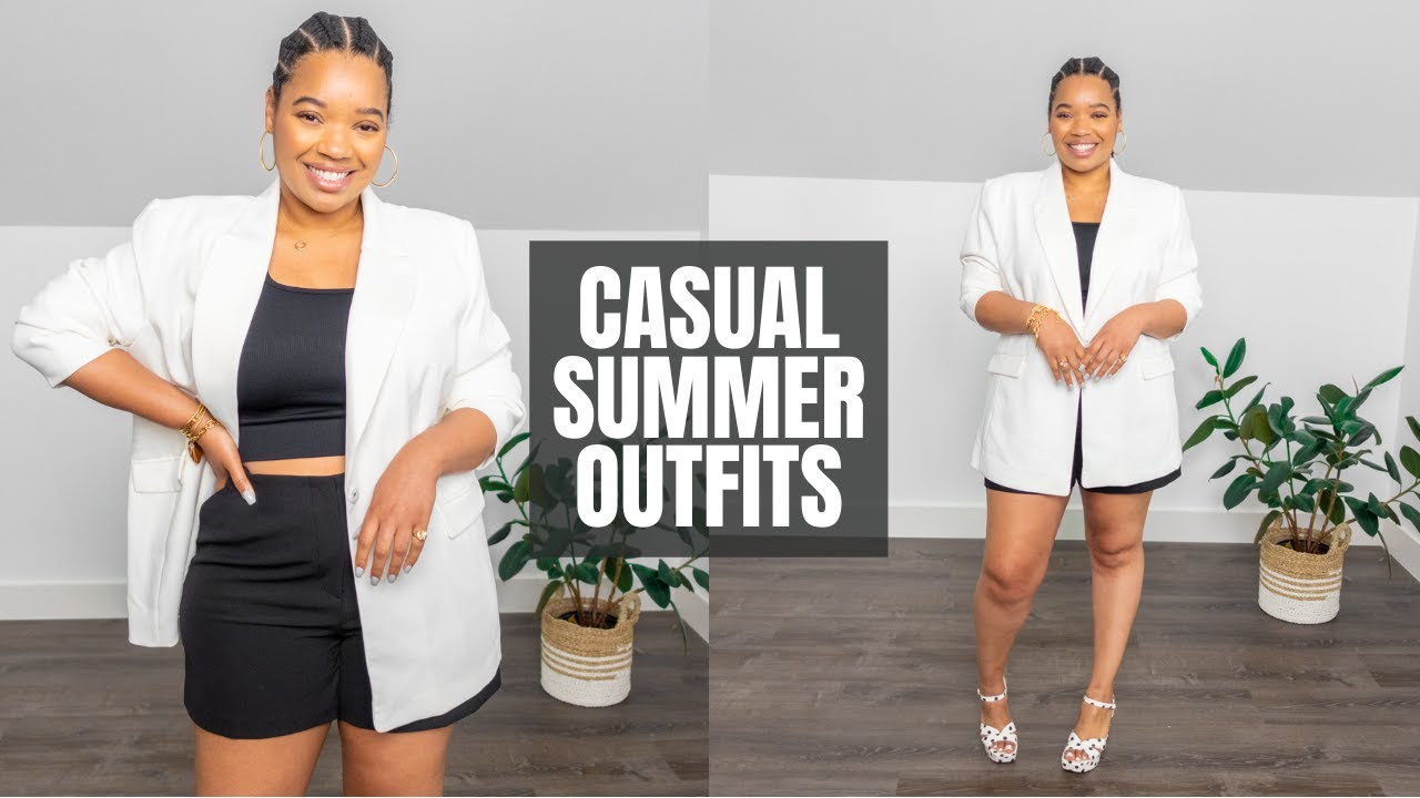 Casual Summer Date Outfits [Day Or Night]