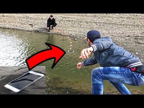 El iPhone 7 que rebota en el agua!!! (HotSpanish Vlogs)