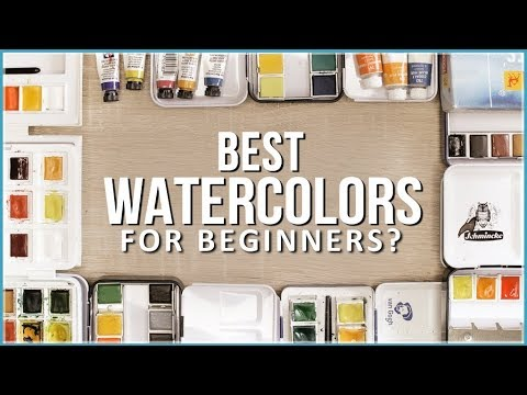Top 10 Watercolor Sets For Beginners in the Test! 2019 Edition