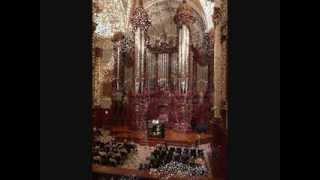 """Charles Tournemire: Choral-Improvisation sur le """"Victimae pascali""""; Anne Horsch, organ"""