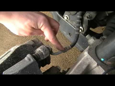 Changing front brake pads on a 2006 Ford Freestyle  PART