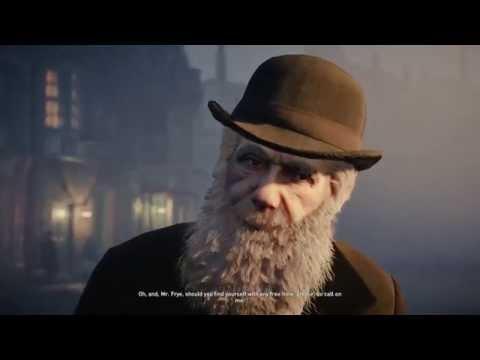"Assassin's Creed: Syndicate - Overdose: Charles Darwin ""John Elliotson"" Jacob Frye Chat Cutscene PS4"