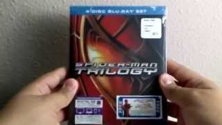Spider-Man Trilogy - Blu-Ray Unboxing