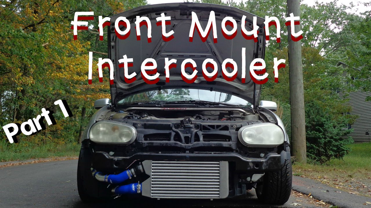 Jetta Gli 2016 >> MK4 GTI FMIC Install ( Front Mount Intercooler ) - YouTube