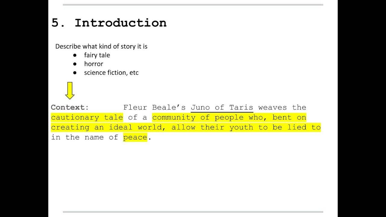 how to write a written text essay juno of taris context  how to write a written text essay juno of taris context sentence