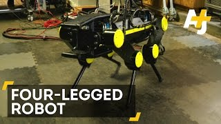 Watch This Four-Legged Robot Lift Itself Back Up