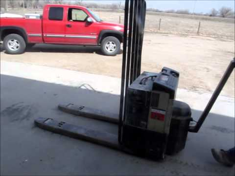 Crown 40GPW 4 14 Electric Pallet Jack For Sale Sold At