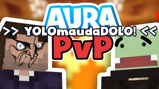 YOLO to the maudaDOLO! | Minecraft AURA PvP #02 | Zombey