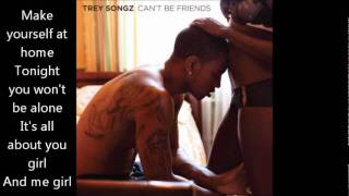 Trey Songz - I Want You ( Lyrics On Video)