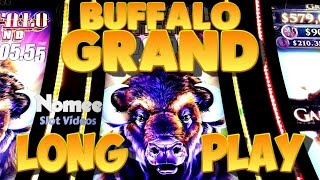 Buffalo Grand Slot Machine - New Game!! - Long Play with Bonus(Here is my first time playing a the new game Buffalo Grand by Aristocrat. I waited in line for about 45 minutes before I could get a seat and it was enjoyable to ..., 2015-10-27T20:27:09.000Z)