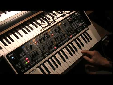 Roland Gaia Tutorial 4 - Acoustic Piano - Subtractive Synthesis