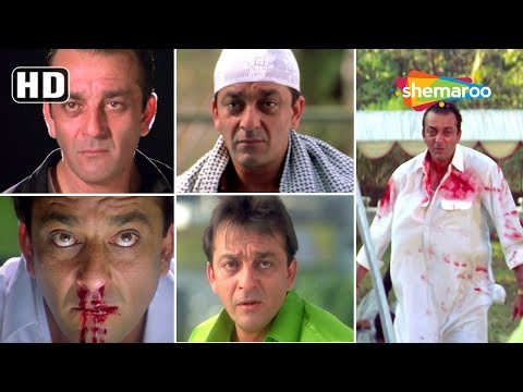 Best of Sanjay Dutt Scenes from Maine Dil Tujhko Diya - Sohail Khan - Sameera - Romantic Hindi Movie