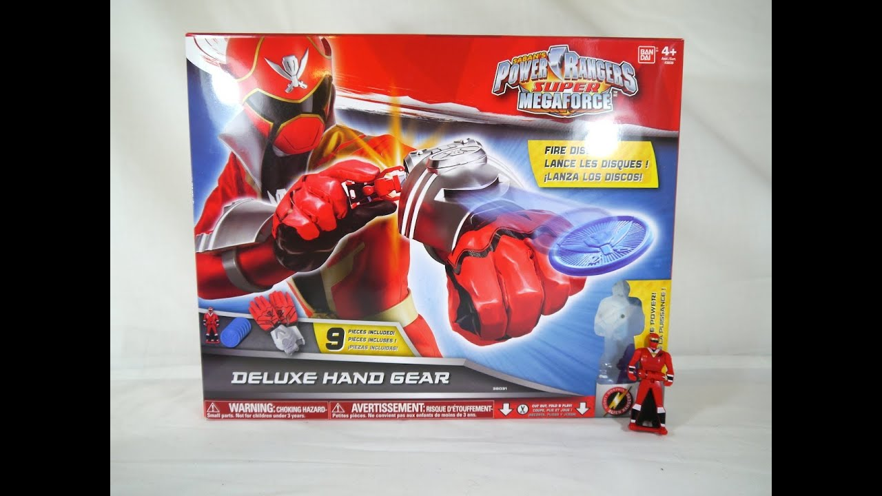 Review: Deluxe Hand Gear (Power Rangers Super Megaforce ...