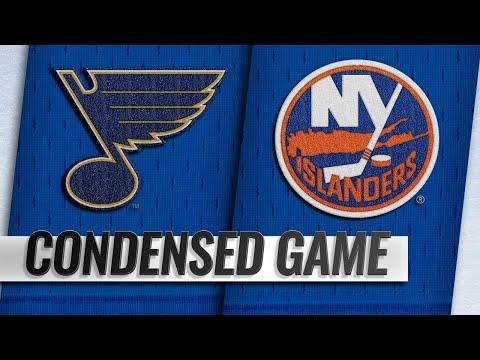 01/15/19 Condensed Game: Blues @ Islanders