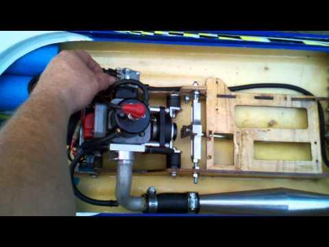 Jasons RIO 51 w/Zenoah 26cc motor&clutch
