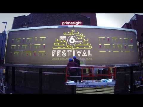 BBC 6 Music Festival 2014 LineUp Revealed  Time Lapse