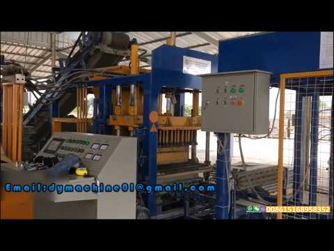 QT4 18 automatic hydraulic concrete block gal machine sri lanka, cement block making machine in sri