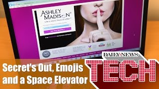 Ashley Madison's Secrets Are Out, Emoji's by State and a Space Elevator ; Daily News Tech