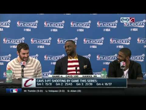 Thumbnail: Kevin Love would rather watch Game Of Thrones than discuss chemistry with Cleveland Cavaliers' Big 3
