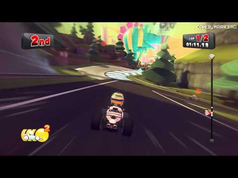 F1 Race Stars (PC) Correndo com Bruno Senna