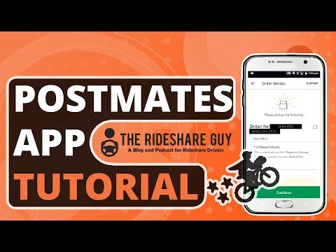 How to Use the Postmates App as a New Fleet Delivery Driver (Tutorial)
