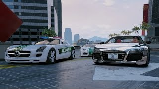 GTA V | DUBAI SUPERCARS MEET IN BURJ KHALIFA | GTA 5