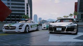 GTA V | DUBAI SUPERCARS MEET IN BURJ KHALIFA | GTA 5